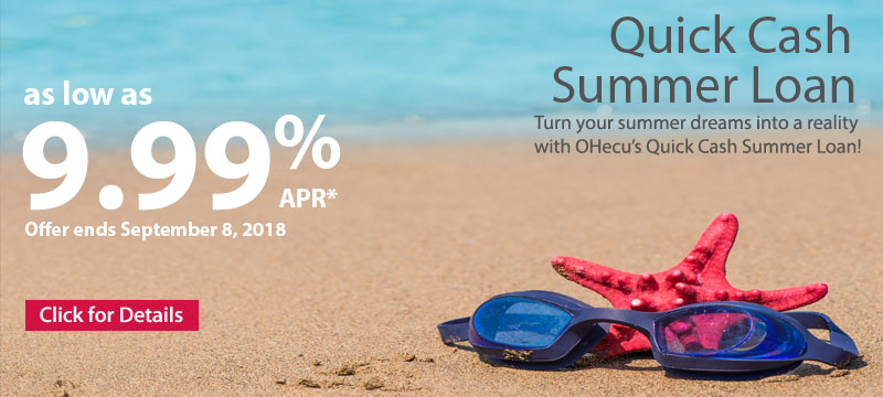Quick Cash Summer Loan